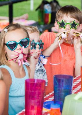 Formule campping anniversaire d'enfants