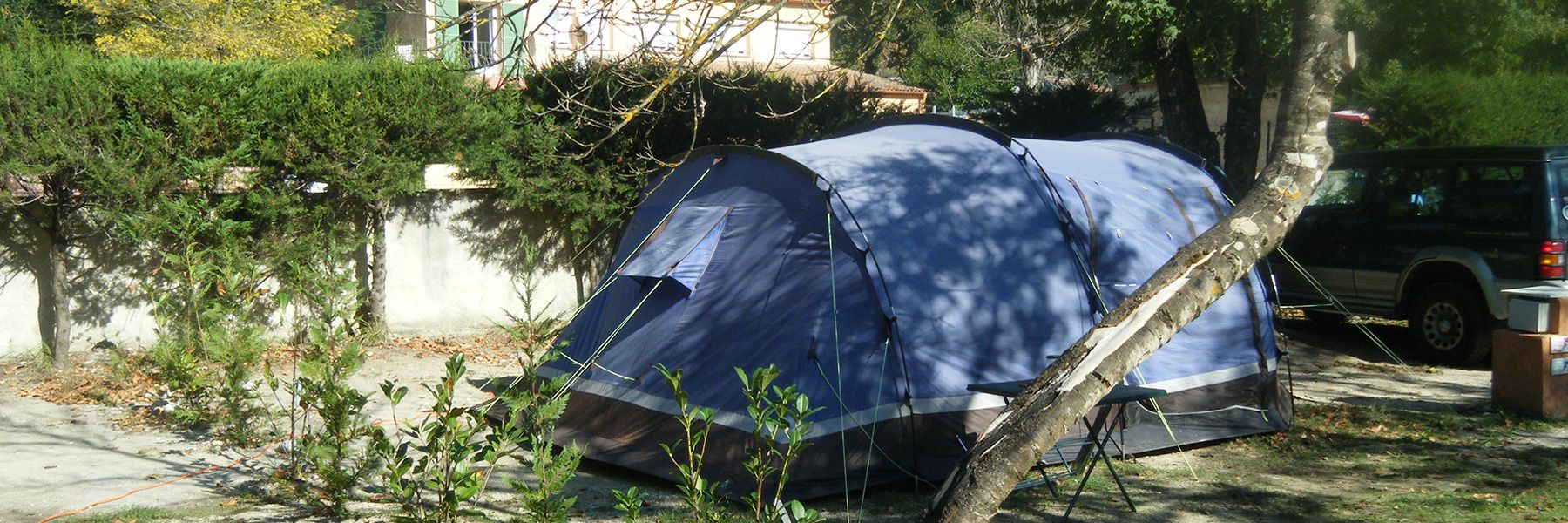 Our campsit pitches
